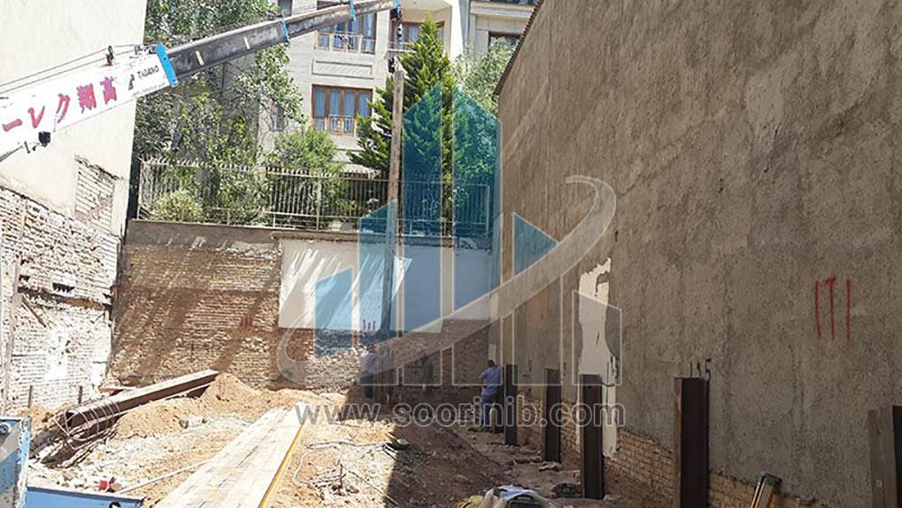 عملیات گودبرداری، تثبیت و پایدارسازی دیواره های گود به روش مهار متقابل