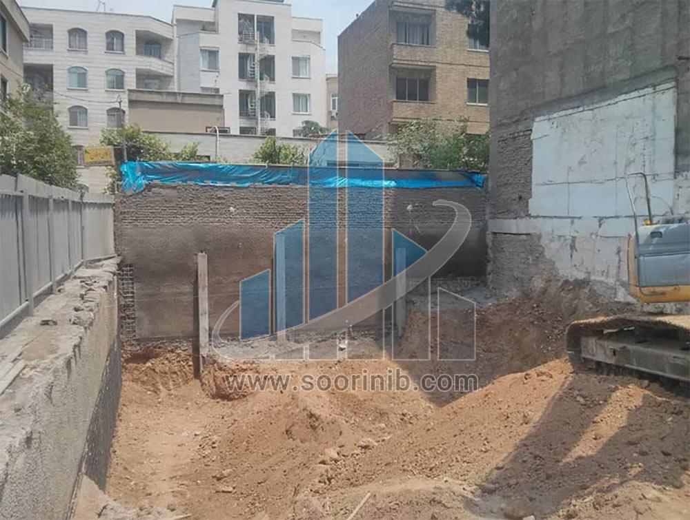عملیات تخریب، گودبرداری، تثبیت و پایدارسازی دیواره های گود